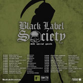 black label society plakatf m
