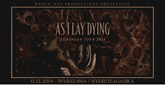 as i lay dying plakat m