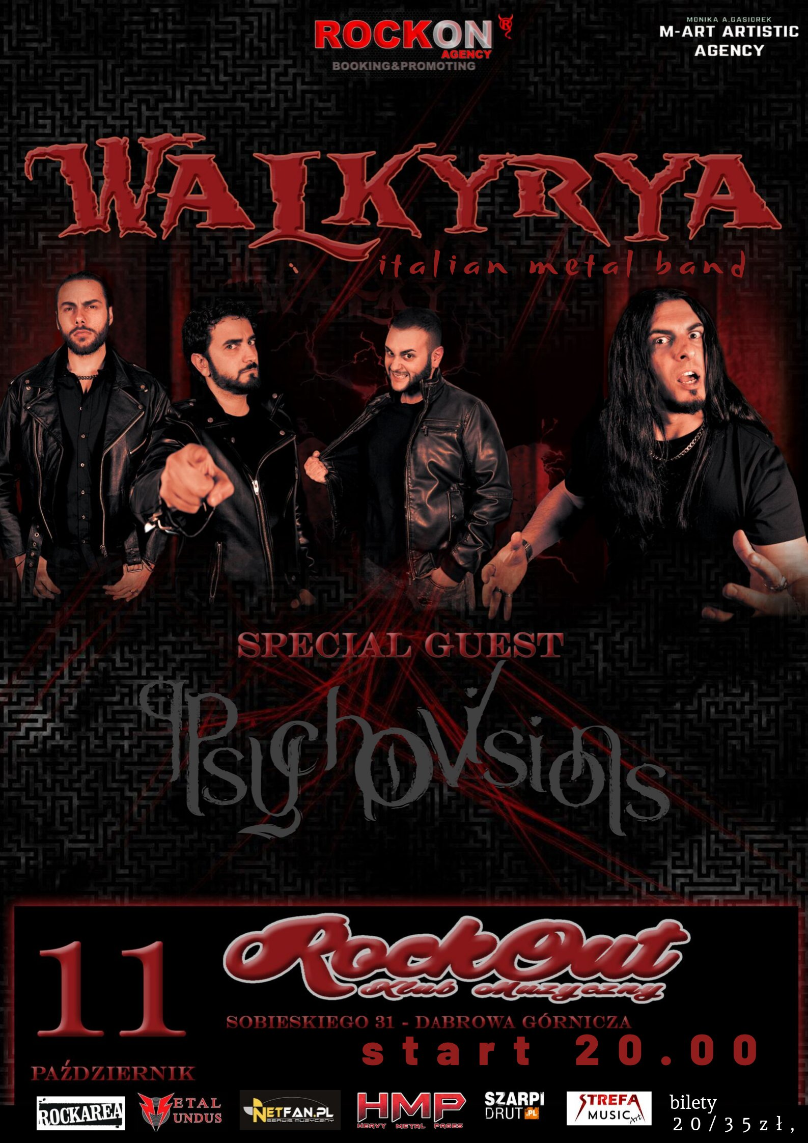 walkyrya italian metal band 111019 m-artzzz b