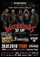 destroyers plakat m