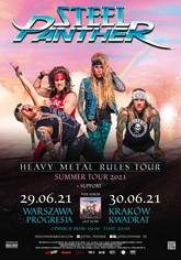 steelpanther poster m